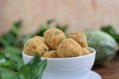 Polpette di zucchine al forno Zucchini, Healthy Lifestyle, Recipies, Muffin, Breakfast, Italian Recipes, Food, Recipes, Morning Coffee