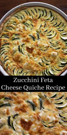 Recipe Using Feta Cheese, Feta Cheese Recipes, Quiche Recipes, What's For Breakfast, Best Breakfast Recipes, Dinner Recipes Easy Quick, Quick Easy Meals, Vegetarian Recipes, Cooking Recipes