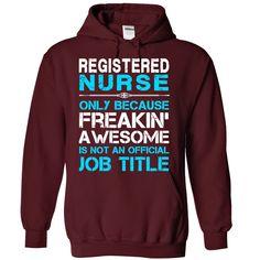 (Top Tshirt Popular) Registered Nurse [Tshirt design] Hoodies Tee Shirts