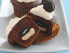 Give your family an unexpected delight and wow them with these Mini OREO Surprise Cupcakes