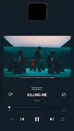 Korean Song Lyrics, Korean Drama Songs, Lyrics Aesthetic, Aesthetic Videos, Pop Playlist, Ikon Songs, Pop Lyrics, Ikon Kpop, Ikon Wallpaper