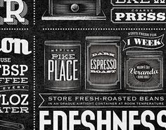 Starbucks - Home Brew Typographic Mural
