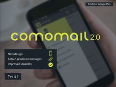 Fresh design, better navigation and an enhanced set of features. The #comomail messenger for #eBay is the right app for sellers who, having multiple eBay accounts, do not want to miss a single question from customers.  Download the new comomail at: http://comocom.com/auction-messenger-for-sellers