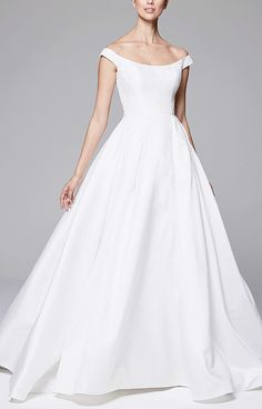 726 Best WHITE WEDDING GOWNS ! images  742aa4b8b957
