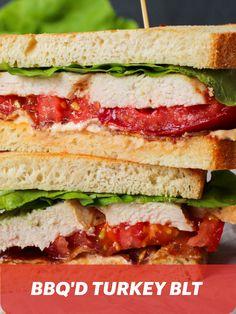 Try out Alaina Yvon-Moreau's BBQ'D Turkey BLT Sandwich!