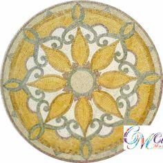 MD049 Marble Mosaic Medallion