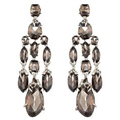 So beautiful! Smoky Marquis Chandelier Earring | Alexis Bittar