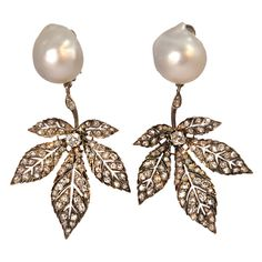 Antique Leaf earrings