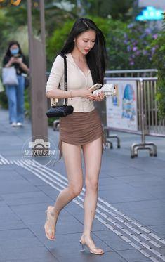 Asian Beauty, Mini Skirts, Female, Pretty, Street Styles, Woman, Fashion, Beautiful Women, Girls