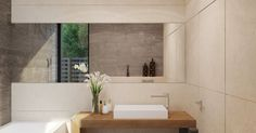 Trendy bathroom - lovely picture