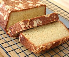 Almond Crusted Butter Cake (Low Carb and Gluten-Free) | All Day I Dream About Food
