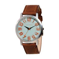 Amazon.co.jp: [トーキョーベイ] TOKYObay レディース 腕時計 スタンダード アナログウォッチ T156 トラック ウエスト ラージTrack West Large [選べるバンドカラー2色] (ブラウン): 腕時計通販