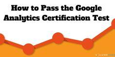 How to Pass the Google Analytics Certification Test #googleanalytics #SEO #socialmedia