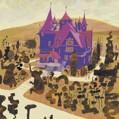 Living Lines Library: Coraline - Visual Development Art And Illustration, Coraline Book, Dragons, Laika Studios, Animation News, Bg Design, Environment Concept Art, Environment Design, Animation Background