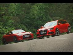 #Nissan GT-R vs #Audi RS6 Avant Shootout