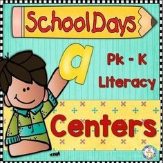 Back to school literacy centers Six literacy center activities (with worksheets) to help you plan your first few weeks of school. All activities are in color and black and white. These three phonological awareness center activities will be a fun way for