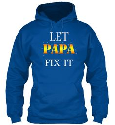 Cool Papa Limited Edition Royal Sweatshirt Front