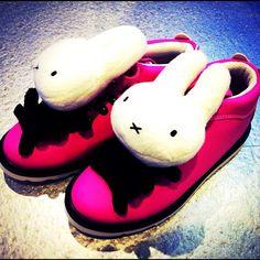 SPOTTED: Miffy x 2% kicks!