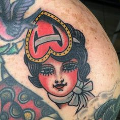 Great Tattoo by Cecile Pages.  See More ::...