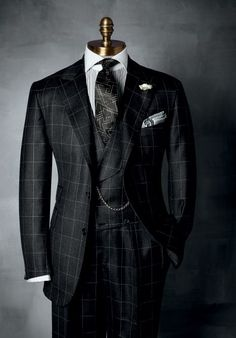 "very nice window pane suit. ""https://www.paulstuart.com "" #menssuitsvintage"