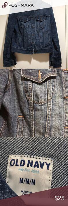 Old navy jean jacket Gently used jean jacket from old navy . Old Navy Jackets & Coats Jean Jackets