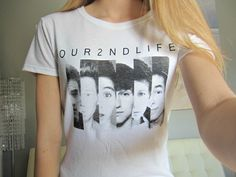 Our Second Life O2L Faces Collage Screen Print by CandyShopGifts, $18.00