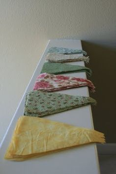 Easy-to-make bunting