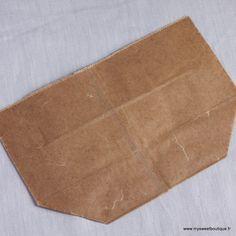 Image of Sachet kraft en papier ciré, vendu à l'unité