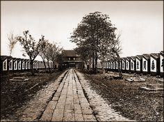 Examination Hall With 7500 Cells, Canton, China [1873] Attribution Unk [RESTORED] by ralphrepo, via Flickr