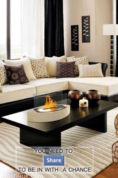 Love coffee table decor :-)