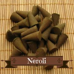 Neroli Incense Cones - Hand Dipped Incense Cones by CherryPitCrafts on Etsy