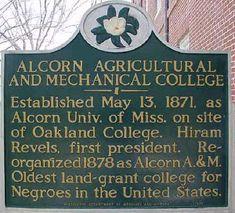 Alcorn State History - Alcorn State University Alumni Association ...