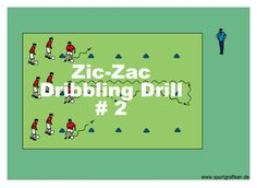 http://www.top-soccer-drills.com/zic-zac--2.html #Dribbling #Drills For #Soccer