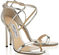 SO, we went shopping and picked our top 12 Jimmy Choo wedding shoes to strut your stuff for your special day. Silver Sandals, Silver Heels, Bridal Heels, Jimmy Choo Shoes, Fashion Heels, Luxury Shoes, Manolo Blahnik, Leather Heels, Real Leather