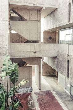 Louis Kahn | Salk Institute | La Joilla;California | Photo by Rasmus Hjortshøj, via Behance