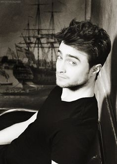 Daniel Radcliffe well didn't he grow up and get adorable?<<<<no you stupid he was always adorable!