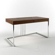 Porada / Kepler 2009 и ниже (Vray) : Table : - models Loft Furniture, Metal Furniture, Custom Furniture, Table Furniture, Modern Furniture, Furniture Design, Workspace Desk, Contemporary Desk, Desk Inspiration