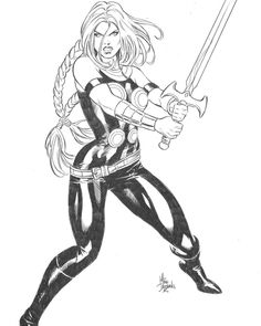 Valkyrie by Mike Deodato