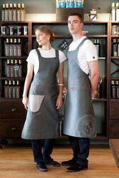 Averills Sharper Uniforms Mens Dress Leather With Brushed Nickle Server Belt
