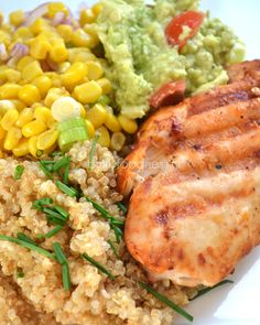 Super Healthy Sunday: Harissa kip met quinoa