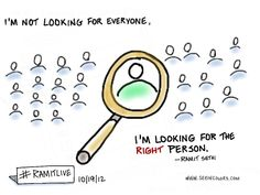 """Ramit Sethi - """"I'm not looking for everyone, I'm looking for the right person"""" 