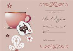 Gy Farias: Modelos de convites para chá de lingerie