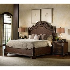 Hooker Furniture Adagio Panel Headboard | Wayfair $1271