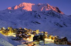 val thorens by night - Google zoeken