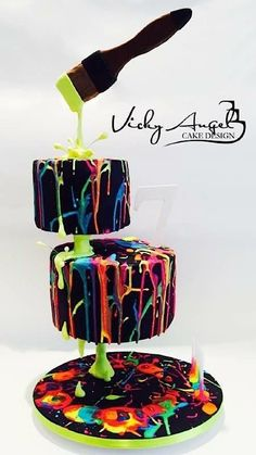 My mom rocks and is gonna make this cake in black, red and white for my birthday