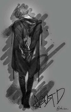 @pristinemess Agust D (Suga/Yoongi) Fanart, credit to Artist
