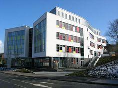 Knockbreda Health Centre, Belfast | alsecco Solid Wall Insulation, External Wall Insulation, Rainscreen Cladding, Cladding Systems, Facade Design, Hospitals, New Builds, Belfast, Schools