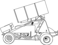 Print Stock Car Coloring Pages Gallery