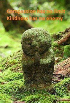 Compassie kent geen grenzen. Vriendelijkheid kent geen vijanden.