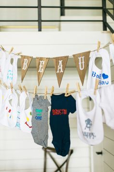 Read More on SMP: http://www.stylemepretty.com/living/2016/08/02/a-baby-shower-so-gorgeous-you-might-mistake-it-for-a-wedding/